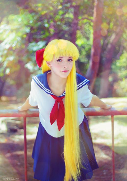 Sailor Moon Sailor Venus Cosplay Costume Full Set Halloween Costume Procosplayshop