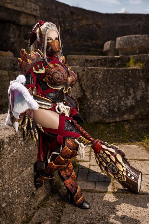 monster hunter odogaron armor cosplay