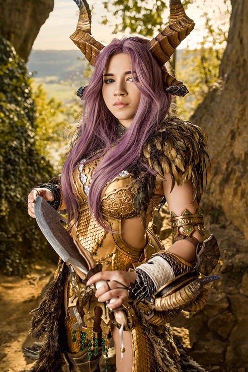 Kulve Taroth Armor Cosplay Photo Take them to the smithy in astera to craft the kulve taroth alpha and beta armor. kulve taroth armor cosplay photo