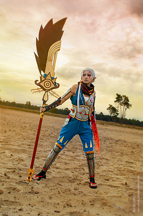 Hyrule Warriors Impa Rei Suzuki Rei Suzuki Impa Hyrule Warriors Cosplay Photo