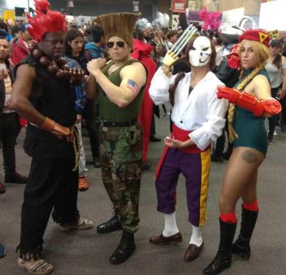 Street Fighter Jormos Korii Gouki Akuma Cosplay Photo