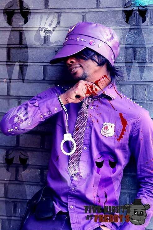 purple guy of fnaf - Matthew Carrington(Nico_Ma'at_Cosplay