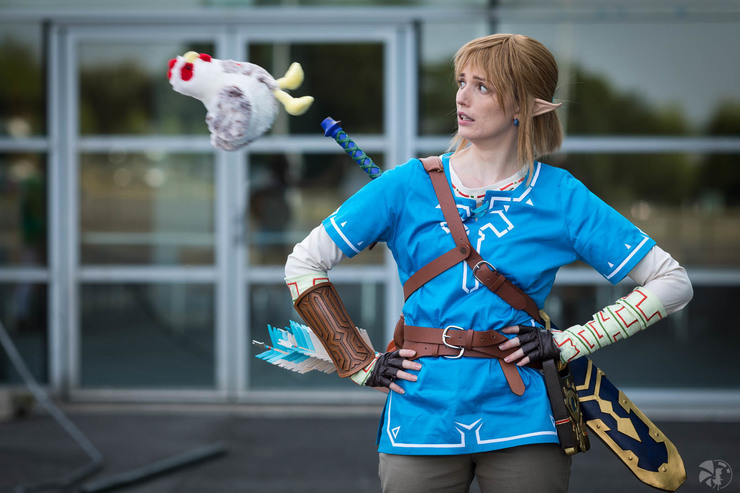 Link Breath Of The Wild Shinosan Link Cosplay Photo