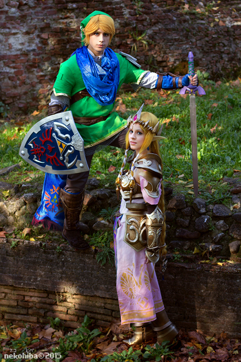 Princess Zelda Cosplay Photos 54 Hyrule Warriors Cure