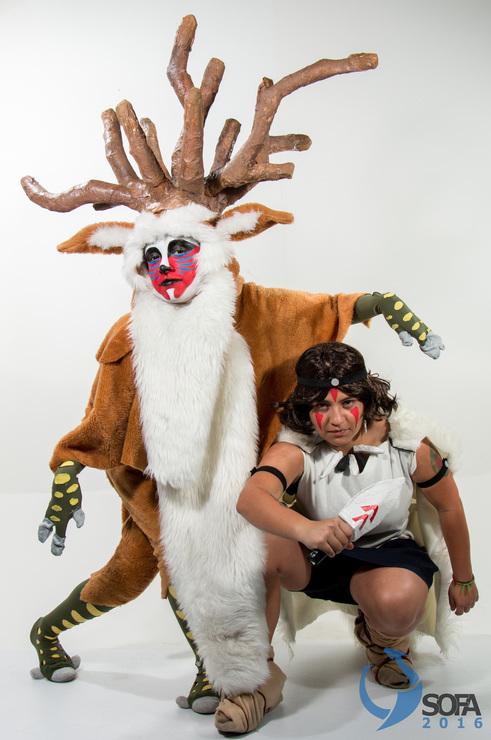 Mononoke Hime Sofa2016 Yabanned Yaban Cosplay Forest Spirit