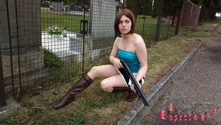 Jill Valentine Re3 2 Rejiclad Jill Valentine Cosplay Photo