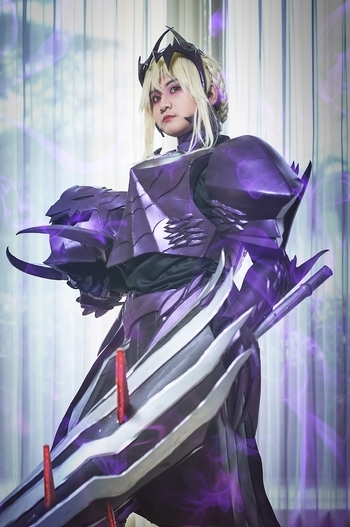 arthoria pendragon lancer alter Cosplay Photos(7)Fate/Grand
