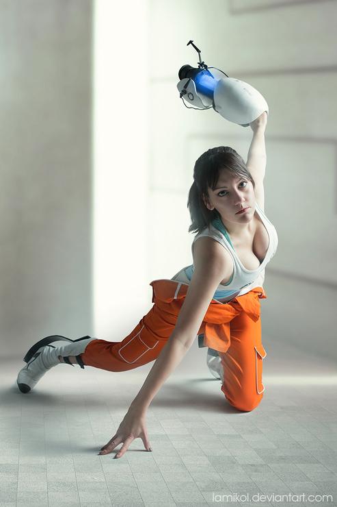 Chell Portal 2 Amiko Amiko Chan Chell Cosplay Photo