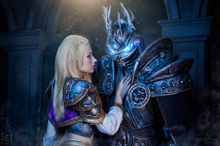 Arthas And Jaina Natasha Narga Lifestream Jaina