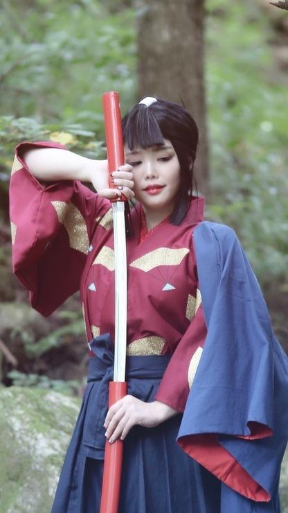 エボシ Moya Lady Eboshi Cosplay Photo