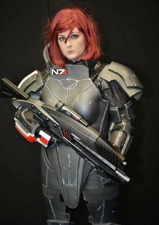 Female Commander Shepard Eduki Cosplay Commander Shepard