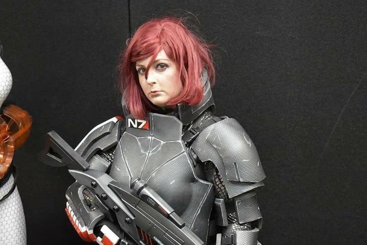 Femshep Eduki Cosplay Commander Shepard Female Cosplay Photo