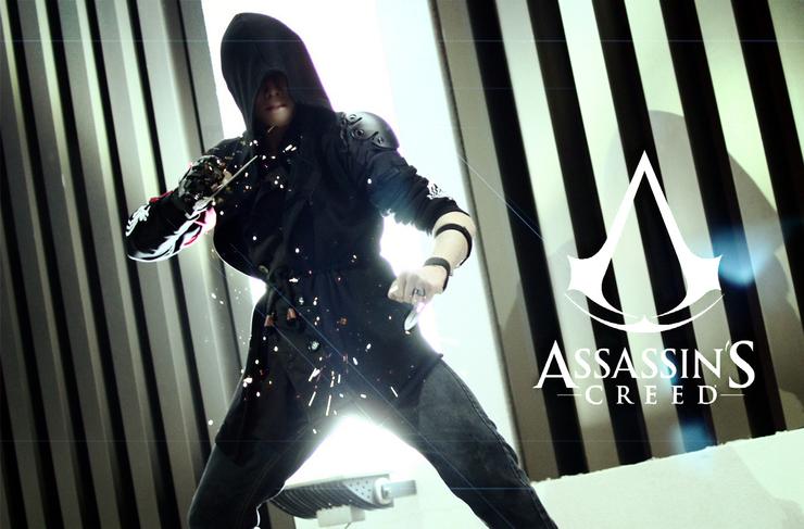 Original Modern Assassin Lzi L子 Assassin S Creed Cosplay Photo