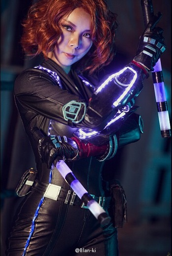 Black Widow Cosplay Photos 26 The Avengers 2 Age Of Ultron