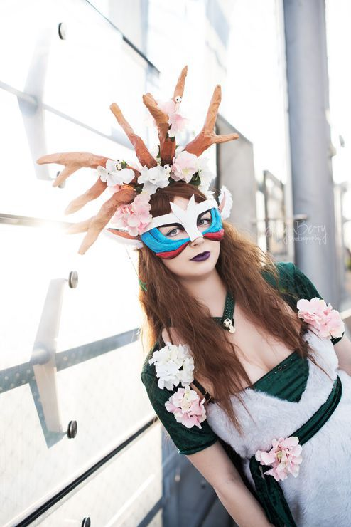 God Of The Forest Tomoe Chan Forest Spirit Cosplay Photo