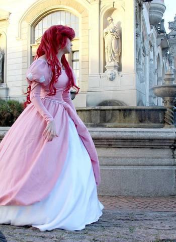 Ariel - Pink Dress