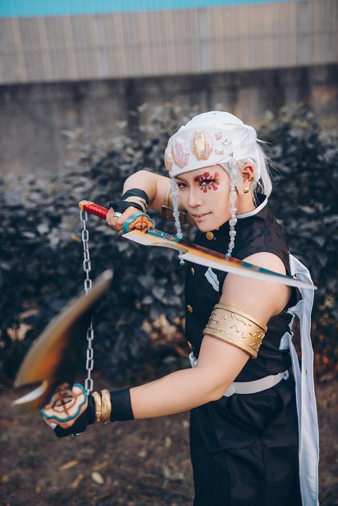 "Shou Ç¿""冰 Uzui Tengen Cosplay Photo Tons of awesome tengen uzui kimetsu no yaiba wallpapers to download for free. shou 翔冰 uzui tengen cosplay photo"