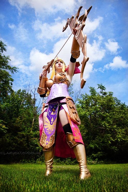 Princess Zelda Ichigei Cosplay Queen Zelda Hyrule Warriors