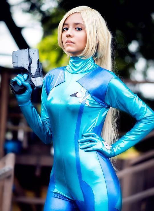 Samus Aran Zero Suit Ver Samus Fox Samus Aran Cosplay Photo