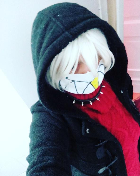 Underfell Sans, Red Cherry - Arata kun Sans Cosplay Photo