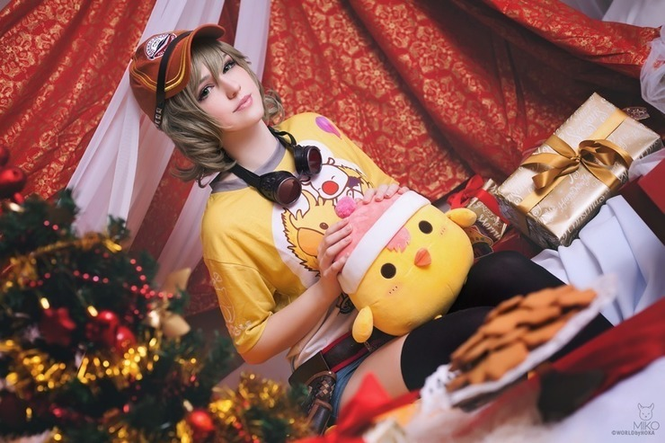 Final Fantasy Christmas.Final Fantasy Christmas Ver Cosplay Photo Cure Worldcosplay