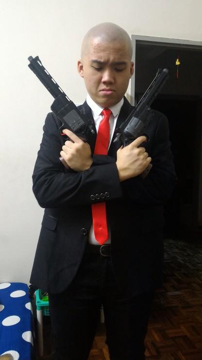 Hitman Agent 47 Goku Lim Leon Scott Kennedy Agent 47
