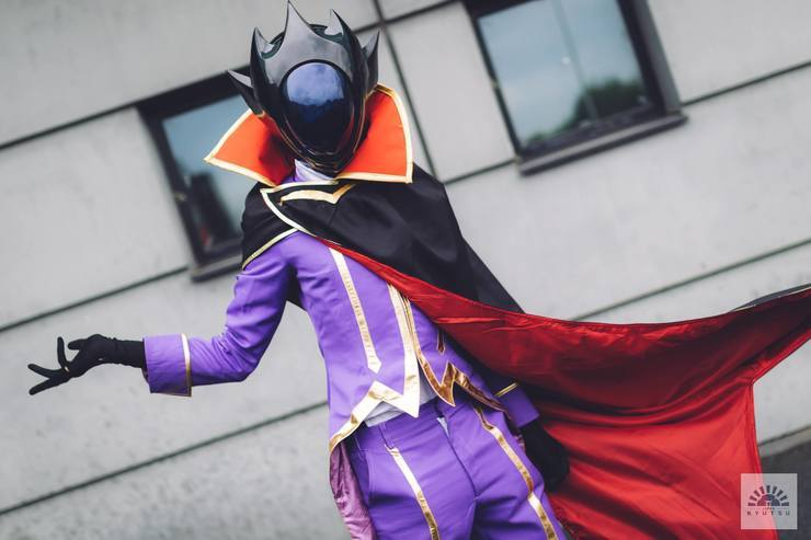 Code Geass Lelouch of the Rebellion Lelouch Lamperouge Zero Cosplay Costume