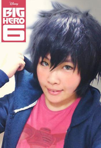 Hiro Hamada-Try makeup