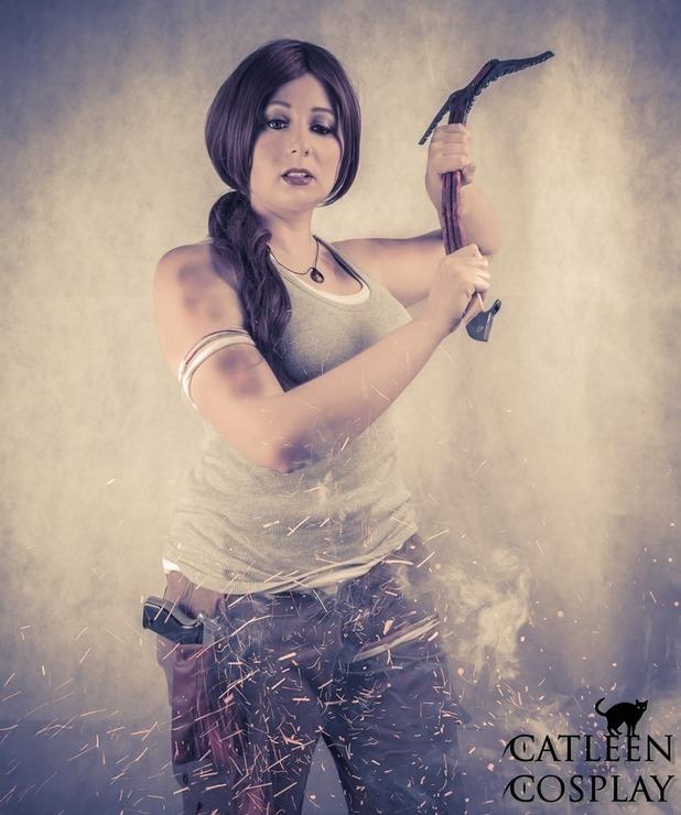Lara Croft Tomb Raider 2013 Catleen Lara Croft Cosplay Photo