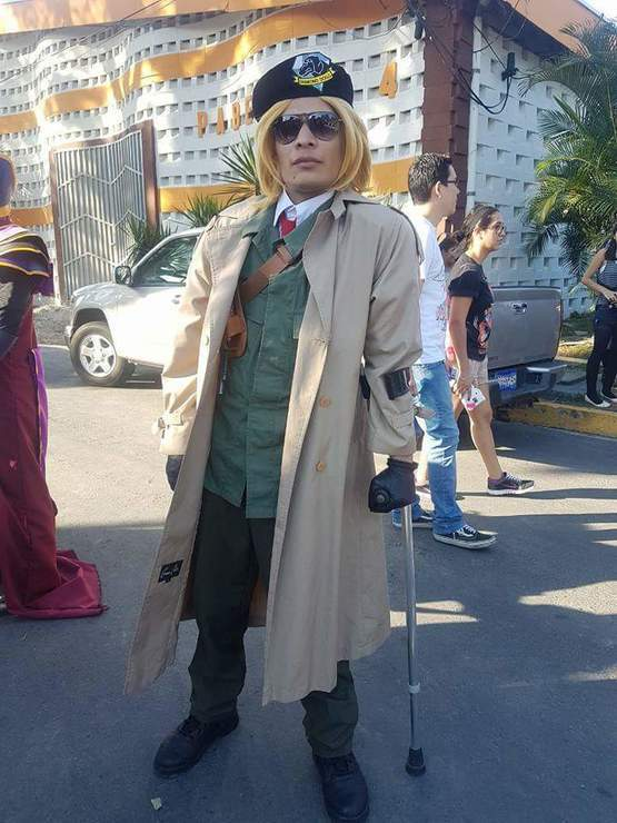 Kazuhira Miller Mart Mccloud Mccloud Kazuhira Miller Cosplay Photo In metal gear solid, kazuhira miller is the subcommander of both the militaires sans frontières and diamond dogs, and later, the survival trainer carbon costume diy guides for cosplay & halloween. kazuhira miller mart mccloud mccloud