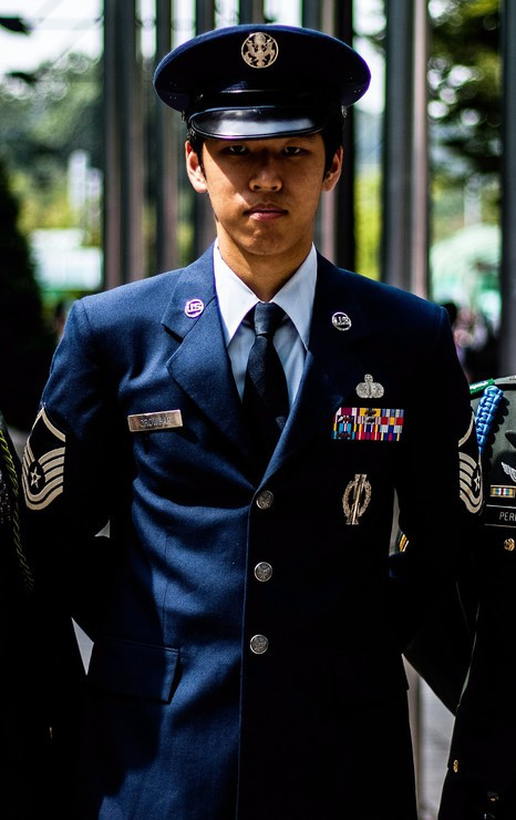 us air force service dress
