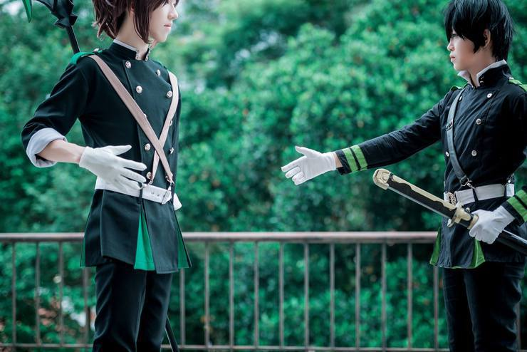 Narumi Makoto Souru Áã†ã'‹ Yuichiro Byakuya Yu Mingyu ƘŽç'€ Makoto Narumi Cosplay Photo