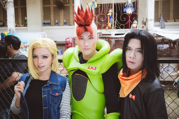 Android 16 17 18 Cosplay Photo