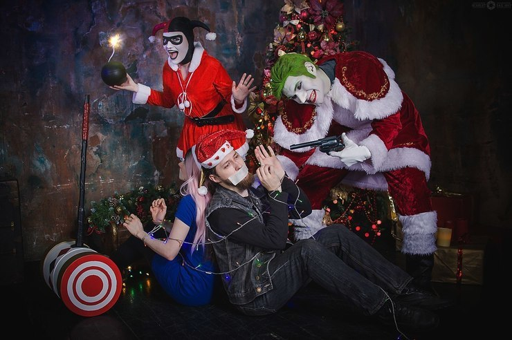 Christmas With The Joker.Christmas With The Joker Igor Hitman Joker Harley