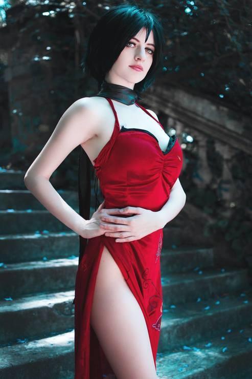 Ada Wong cosplay (Resident Evil) - 9GAG