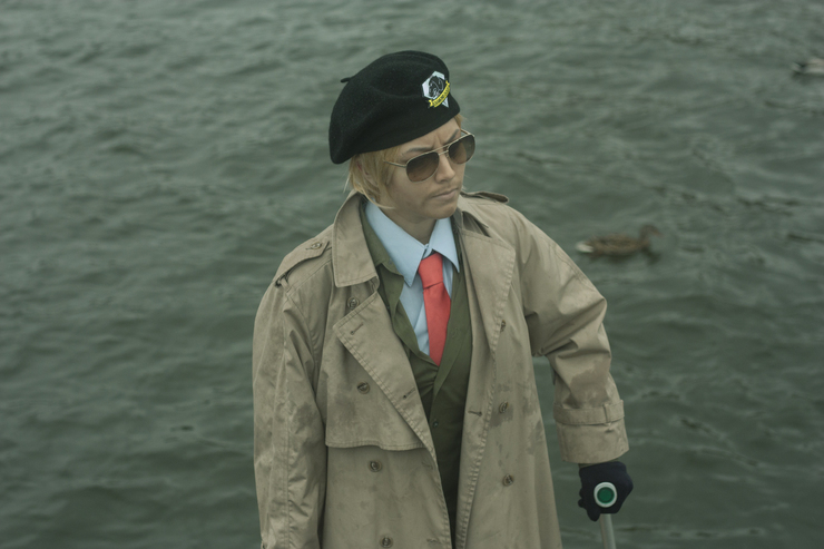 Kazuhira Miller Milli Cosplays Kazuhira Miller Cosplay Photo Sometimes he is the breaker of the fourth wall. milli cosplays kazuhira miller cosplay