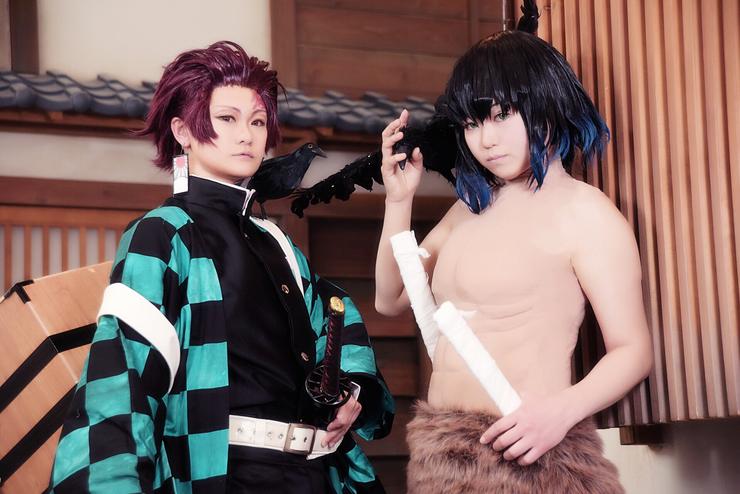 Kashi Tanjiro Kamado Cosplay Photo
