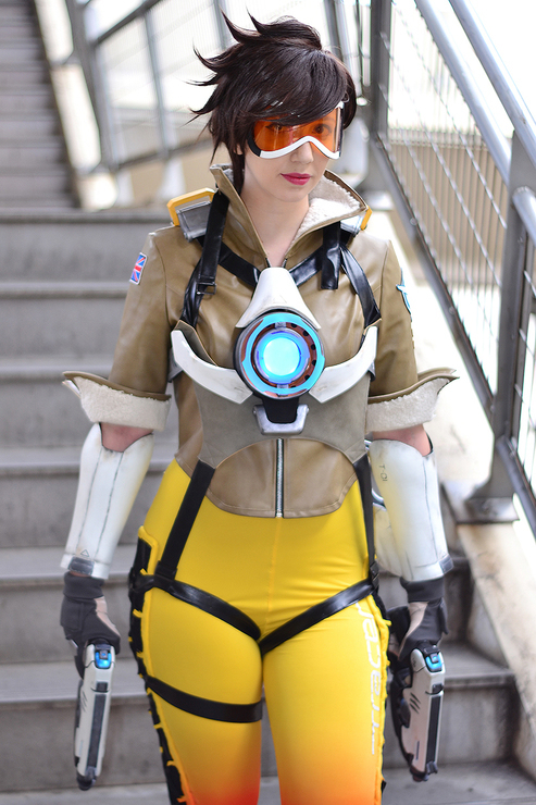 Ardsami Cosplay Tracer Overwatch Gamepare Thefappening Pro 1
