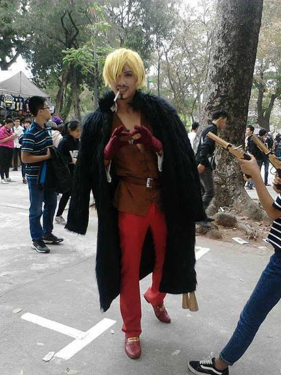 Cosplay One Piece Sanji Cosplay Photo