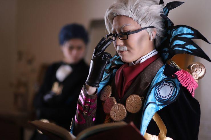 Akihiro Karasawa Á‹ã'‰ã•ã' Professor James Moriarty Cosplay Photo