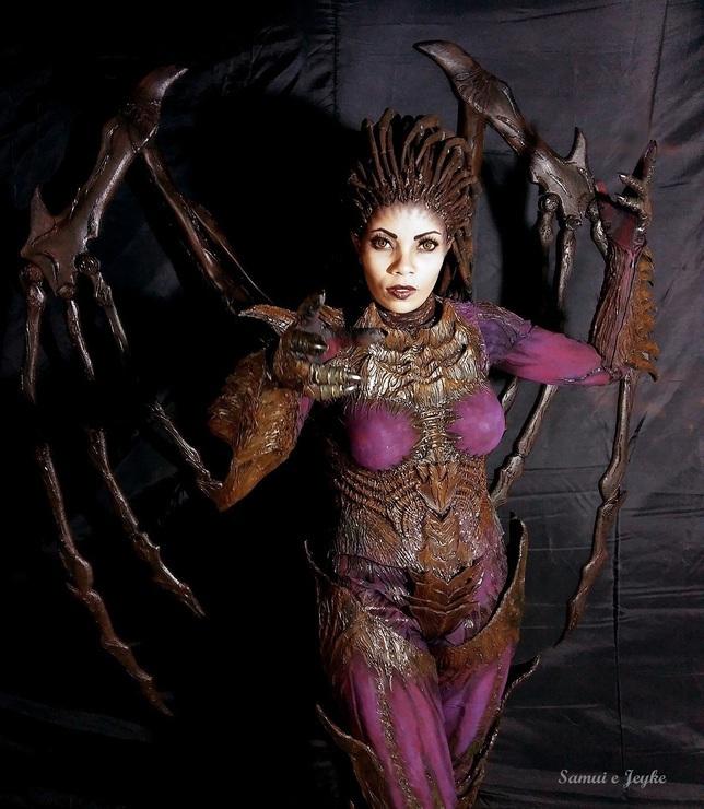 Kerrigan cosplay