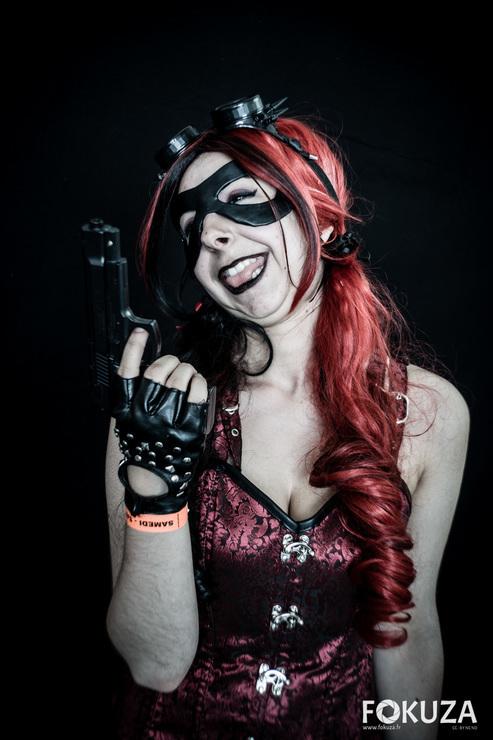 Harley Quinn Steampunk Kitsufoxcosplays Kitsu Harley Quinn Cosplay Photo
