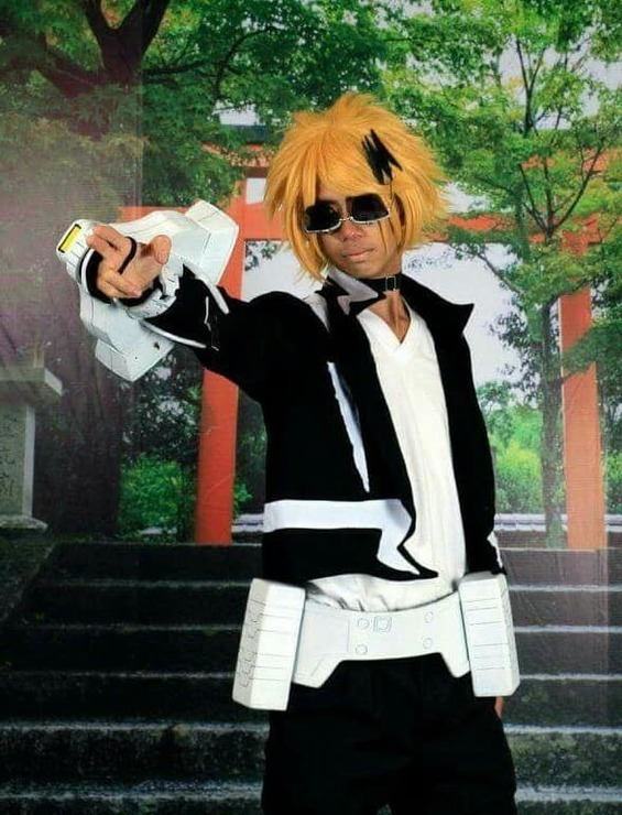 Kaminari Denki Hero Costume Kuro Azanami Kuro Azanami
