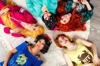 Disney Princesses Pyjama Party