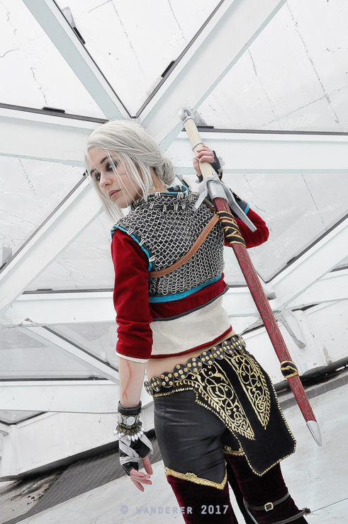 Ciri Witcher Cosplay - Mehrian Hawke(DrosselTira) Ciri
