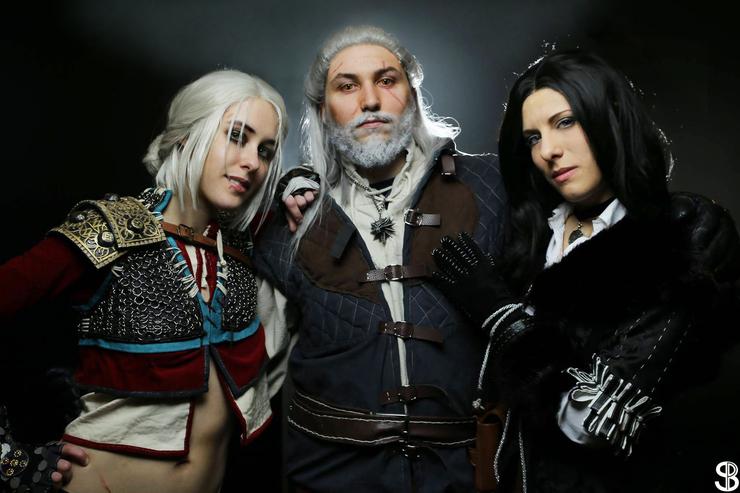 Ciri, Geralt, Yennefer - Mehrian Hawke(DrosselTira) Ciri