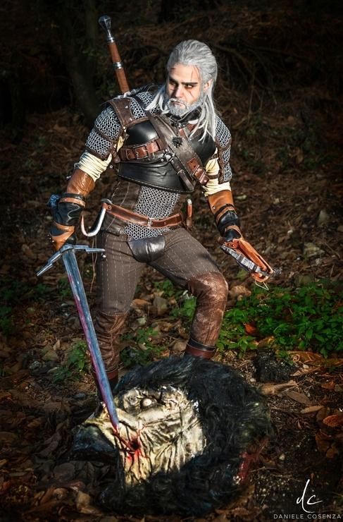 Geralt of Rivia - Taryn Geralt of Rivia Cosplay Photo - Cure