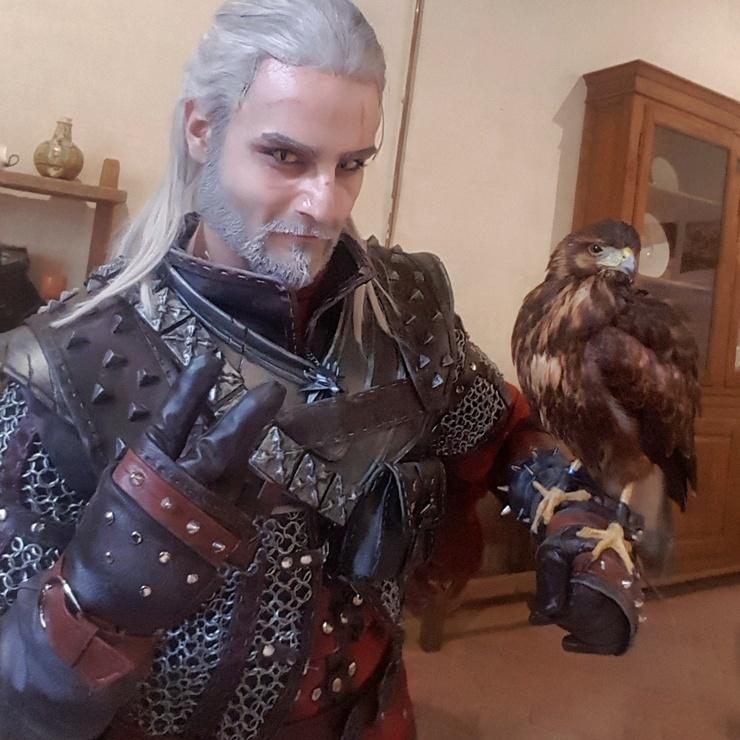 Geralt of Rivia - Taryn Geralt of Rivia Cosplay Photo