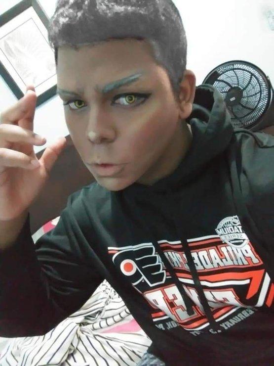 Kingston Hearts makeup test: - Jad Fukuhara(Araki