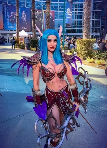 Night Elf Sentinel from WoW